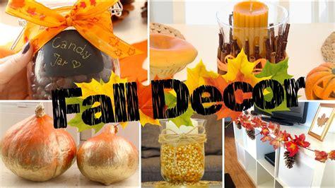 diy fall room decor einfache gemuetliche herbst deko