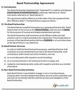 boat partnership agreement template itwasus With boat partnership agreement template