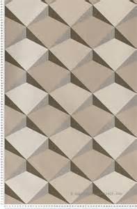 Papier Peint Vinyle Expansé Relief by Papier Peint G 233 Om 233 Trie En Relief Beig Papier Peint