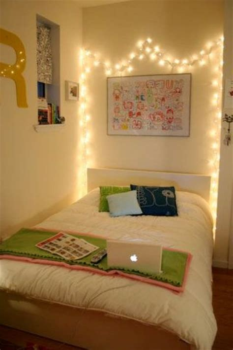 cool string lights ideas   bedroom shelterness