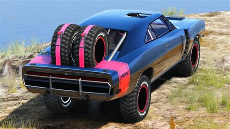 Gta 5 Dodge Charger Off-road Fast & Furious 7 [replace
