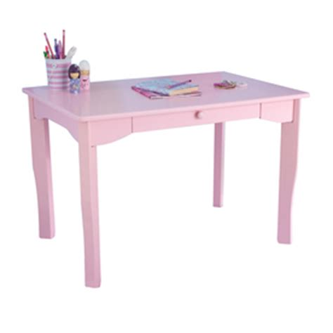 shop kidkraft avalon pink writing desk at lowes