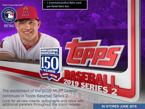 Mlb mlb rally mlb beat the streak mlb ballpark milb first pitch r.b.i. 2019 Topps Series 2 Baseball Cards - RETAIL Delivers NEW Content!