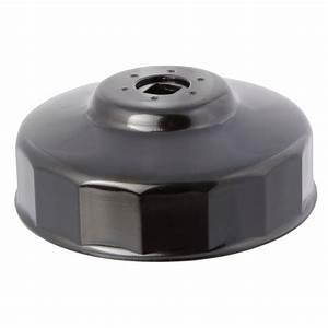 Steelman 100 Mm X 15 Flute Oil Filter Cap Wrench In Black-06102