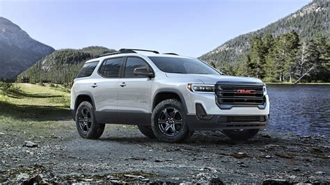 updated  gmc acadia debuts  turbocharged engine