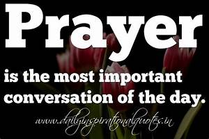 Prayer is the m... Anonymous Religious Quotes