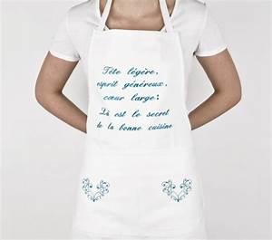 Tablier De Cuisine Femme : un tablier de cuisine mod les originales ~ Teatrodelosmanantiales.com Idées de Décoration