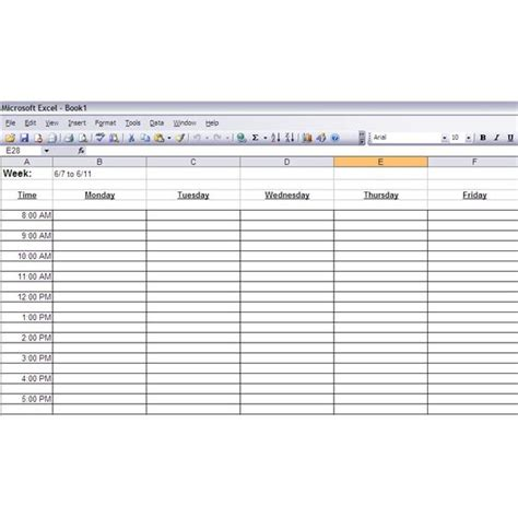 how to create printable time management worksheets