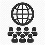 Multilingual Staff International Icon Network Global Globe