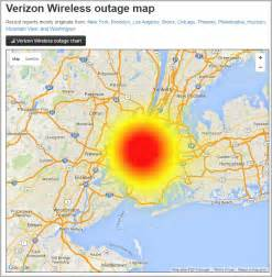 verizon phone outage cellphone not working verizon wireless suffers outage in