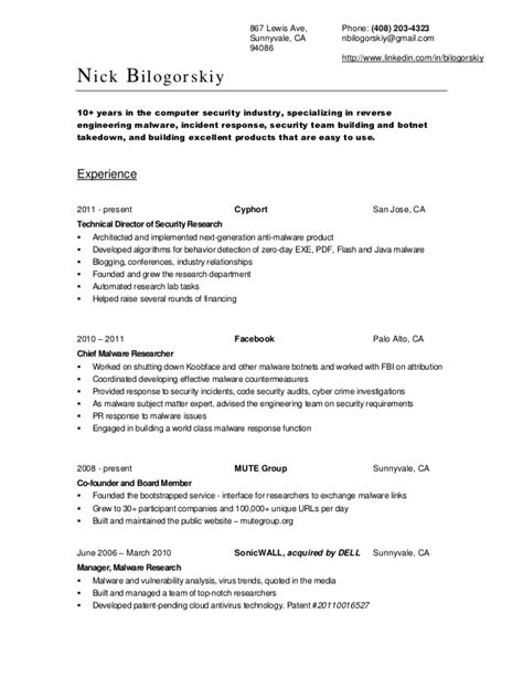 junior cyber security analyst resume 28 images career