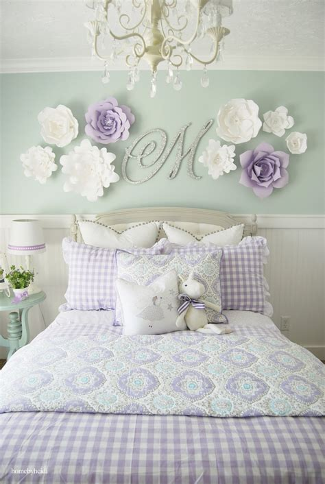 Home By Heidi Purple & Turquoise Little Girls Room