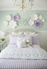 girls room decor Home By Heidi: Purple & Turquoise Little Girls Room