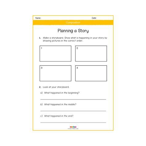 composition y1 worksheets english ks1 melloo