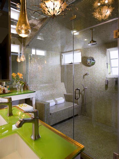 spanish revival contemporary bathroom los angeles