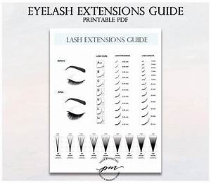Proper Lash Extension Guide For Girls   Girls  Eyelashes