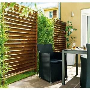 Panneau Brise Vue Composite : panneau shadow amazone l 120 x h 180 cm castorama garden patio privacy garden design et ~ Nature-et-papiers.com Idées de Décoration