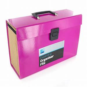 19 pocket expanding box file organiser a4 paper documents With box documents