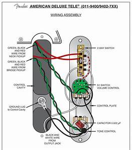 2586d Fender American Telecaster Wiring Diagram