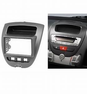 Radio Fascia For Toyota Aygo Citroen C1 Peugeot 107 2 Din