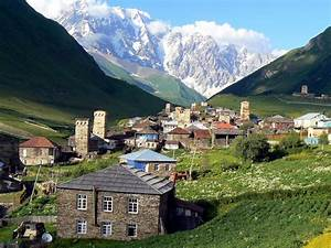 Shkhara mountain and Ushguli – Svaneti, Georgia | North ...