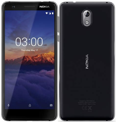 nokia 3 1 android one smartphone with 5 2 inch hd 18 9 display android oreo announced