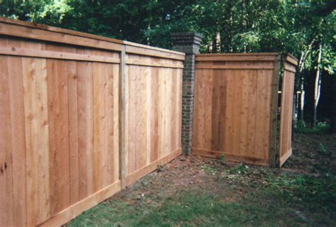 Capped Cedar - Affordable Fence