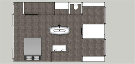 kleine badkamer en suite luxe badkamer quot en suite quot met ligbad en douche beniers