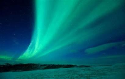 Stars Northern Lights Night Sky Aurora Starry