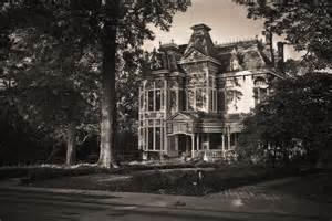 Creepy Old Victorian Mansion