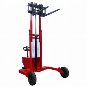 Electric Rough Terrain Straddle Pallet Stacker Rts 12 25