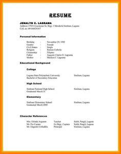 How To Include References In Cv by 4 Curriculum Vitae Exle Pdf Cashier Resumes