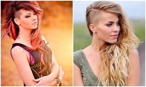 Best 25+ Shaved Hairstyles Ideas On Pinterest