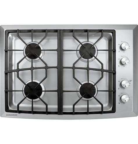 zgunsmss monogram  stainless steel gas cooktop