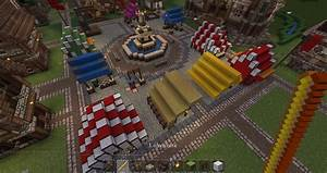 Medieval Market Minecraft Project