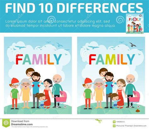 find differences for find differences brain 821 | find differences game kids find differences brain games children game educational game preschool children find differences 109295512
