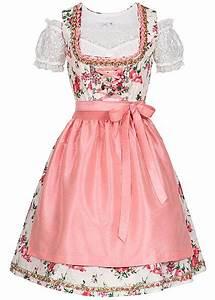 6bb7e3a5148 seventyseven lifestyle damen dirndl kleid mit sch rze bluse rosa weiss  77onlineshop. styleboom fashion ...