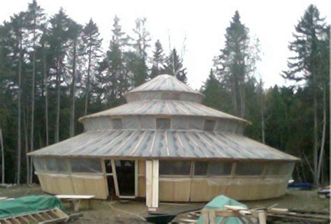 taper wall yurts heart soul construction