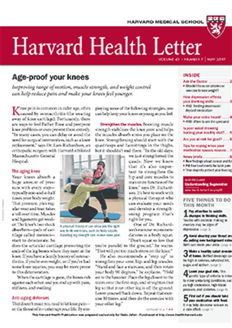 harvard health letter دروانا 22099 | Dorvana Health NewsletterEN HHL 011603201705 IMG