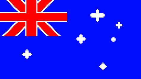 pixilart australia flag pixelart by namemeorilldie