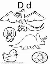 Coloring Pages Bucket Filler Dog Letter Preschool Daily Printable Donuts Dinosaur Duck Dolphin Alphabet Crafts Pledge Dogs Template Getcolorings Pdf sketch template