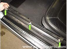 BMW Z3 Door Sill Molding Replacement 19962002 Pelican