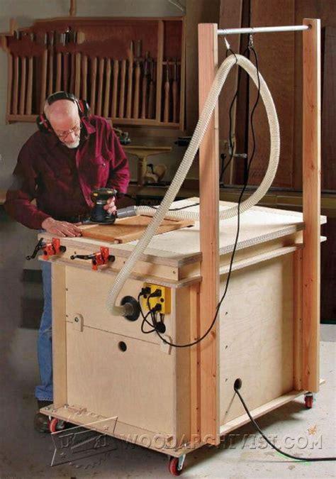 sanding table plans woodarchivist