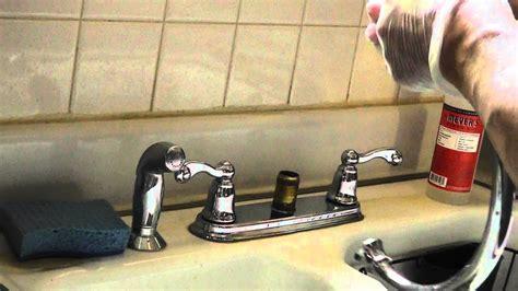 moen high arc kitchen faucet repair leaking bad