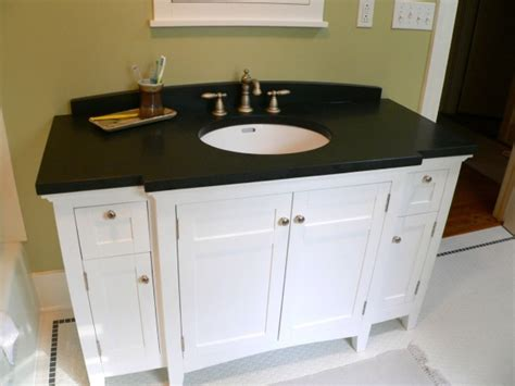 White Bathroom Vanities With Tops With Simple Trend In