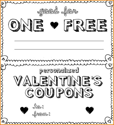 coupon template 18 blank coupon templates wine albania