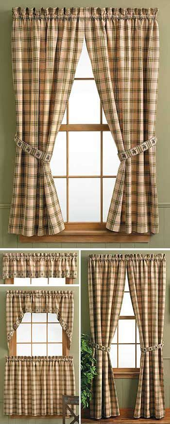 lodge style l shades 8 best rustic window treatments images on pinterest