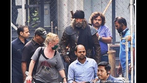 Amitabh Bachchan's Leaked Look From Thugs Of Hindostan Is