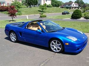 Buy used 2003 Acura NSX Long Beach Blue Pearl 22k Super ...