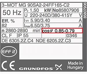Leistung Berechnen Drehstrom Rechner : motor power factor cos fi ~ Themetempest.com Abrechnung